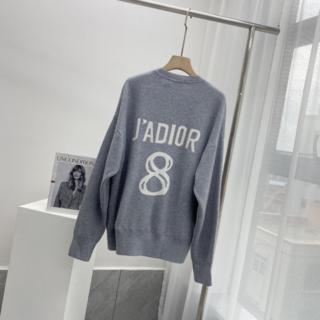 """ディオール(Dior)の☆Dior☆""""J'ADIOR 8"""" カシミヤ*セーター*グレー(ニット/セーター)"""