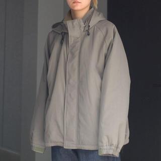 YOKE (ヨーク) ミリタリーパデッドジャケット ブルゾン ネイビー 21aw(ダウンジャケット)