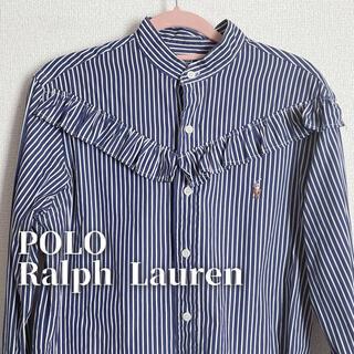 ポロラルフローレン(POLO RALPH LAUREN)のPOLO RalphLauren フリルシャツ(シャツ/ブラウス(長袖/七分))
