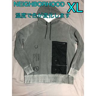 ネイバーフッド(NEIGHBORHOOD)の希少 温度で色が変わる 20ss NEIGHBORHOOD パーカー XL L(パーカー)