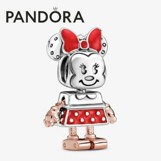 【新品】PANDORA コラボ チャーム ロボットミニー クロス&ポーチ付き