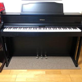 ローランド(Roland)のRoland HP605-GP audio-technicaヘッドホン付 超美品(電子ピアノ)