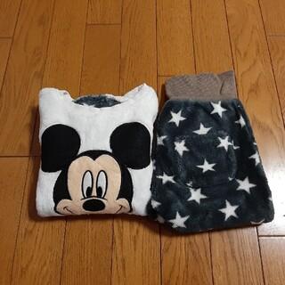Disney - 千趣会 パジャマ ミッキー ディズニー 100 90 ベルメゾン フリース