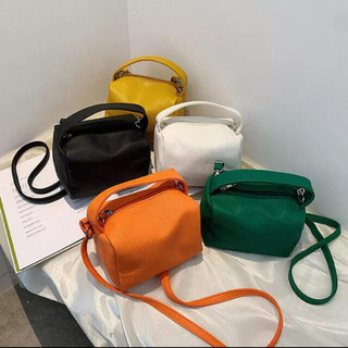 FREAK'S STORE - 新品 グリーン 2way スクエア ボックス バッグ