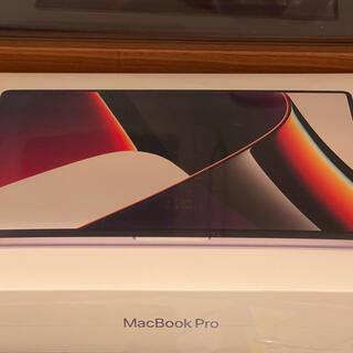 Apple - 【最新】MacBookPro 16 インチ 2021モデル 未使用
