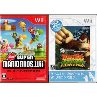 ウィー(Wii)のNewスーパーマリオ&ドンキーコングジャングルビート[Wii](家庭用ゲームソフト)