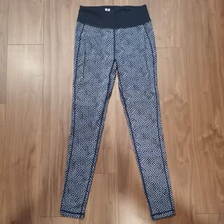 UNIQLO - ユニクロ スポーツウェア レギンス パンツ Sサイズ エアリズム ネイビー 紺