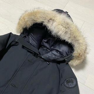 CANADA GOOSE - 美品 カナダグース ブラックレーベル シャトー ブラック Sサイズ 国内正規品