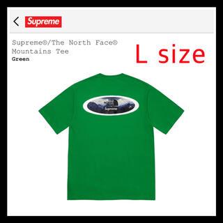 Supreme - 【新品未開封】 シュプリーム ノースフェイス Tシャツ グリーン L tee