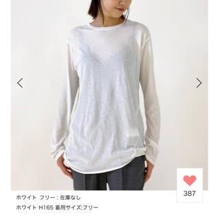 アパルトモンドゥーズィエムクラス(L'Appartement DEUXIEME CLASSE)のDistortion Tシャツ apstudio(Tシャツ(長袖/七分))
