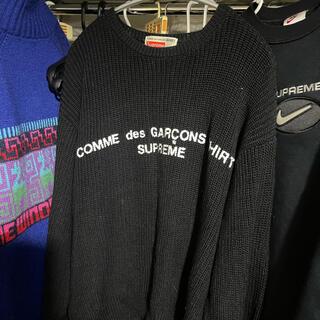 Supreme - supreme コムデギャルソン セーター