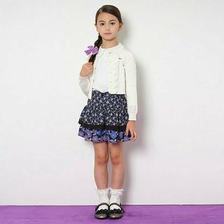 アナスイミニ(ANNA SUI mini)のANNA SUI mini 未使用 キュロット 140 黒(スカート)