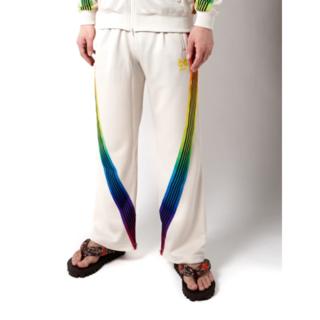 Needles - 激レア即完売〈NEEDLES〉x〈AWGE〉Rainbow TRACK PANT