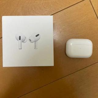 Apple - Airpods pro正規品 シリアルコード有り