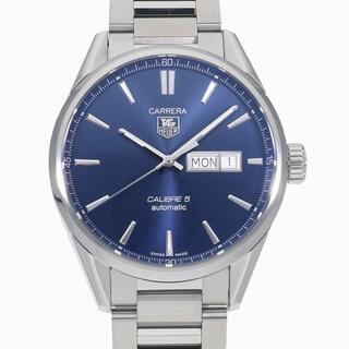 タグホイヤー(TAG Heuer)の[t3939]タグホイヤー カレラ キャリバー5 デイデイト WAR201E.B(腕時計(アナログ))