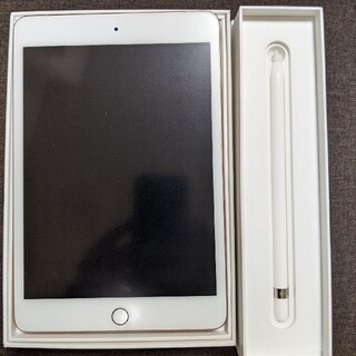 iPad - iPad mini 第5世代  64GB Gold+ Apple Pencil