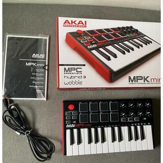 AKAI MPK mini(MIDIコントローラー)