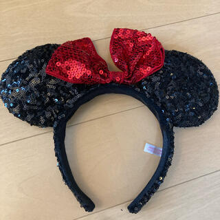 Disney - ディズニーカチューシャ ミニー スパンコール