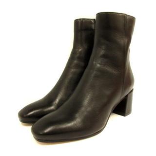 ファビオルスコーニ(FABIO RUSCONI)のファビオルスコーニ ショートブーツ ブーツ サイドジップ 35 22cm 黒(ブーツ)