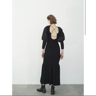 Rosary moon - 完売品Balloon Sleeve Knit Dress  rosarymoon