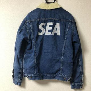XL wind and sea minedenim ボアジャケット