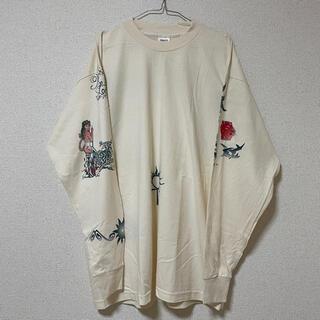 90s USA製 デニス・ロッドマン タトゥーロングスリーブTシャツ XL