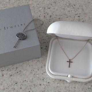 スタージュエリー(STAR JEWELRY)のスタージュエリー 新品 ネックレス K18 ゴールド ブラックダイヤモンド(ネックレス)