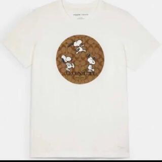 COACH - PEANUTS  コーチ  スヌーピー  コラボ  Tシャツ