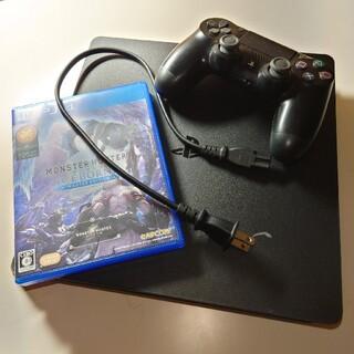 PS4 CUH-2100A モンハンアイスボーンセット
