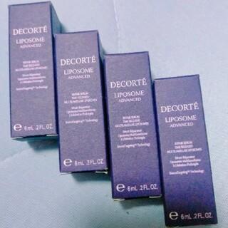 COSME DECORTE - コスメデコル テリポソームアドバンストリペアセラム 6ml 4セット