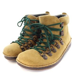 ビルケンシュトック(BIRKENSTOCK)のビルケンシュトック トレッキングシューズ ブーツ ショート 23cm ベージュ(ブーツ)