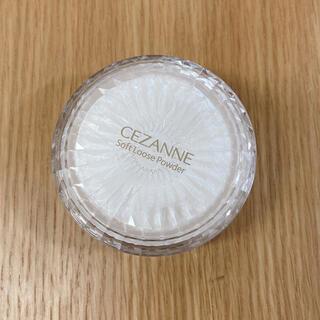 CEZANNE(セザンヌ化粧品) - セザンヌ うるふわ仕上げパウダー 03 ルーセントクリア
