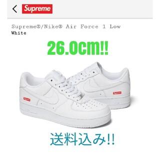 Supreme - Supreme Nike Air Force 1 Low White 26.0
