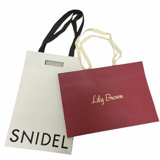 snidel - 【スナイデル・リリーブラウン】ブランドショッパー