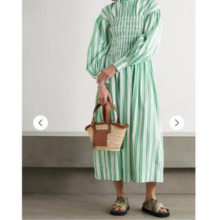 ビューティアンドユースユナイテッドアローズ(BEAUTY&YOUTH UNITED ARROWS)のGANNI stripe dress ワンピース(ロングワンピース/マキシワンピース)