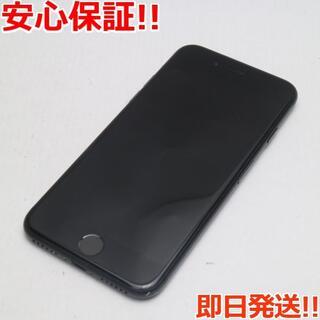 アイフォーン(iPhone)の美品SIMフリーiPhone7256GBブラック(スマートフォン本体)