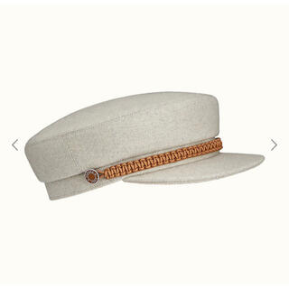 Hermes - 入手困難 HERMES キャスケット 帽子 Deauville