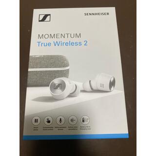 ゼンハイザー(SENNHEISER)のSENNHEISER MOMENTUM True Wireless ホワイト(ヘッドフォン/イヤフォン)