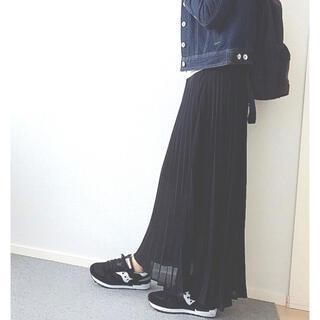 moussy - MOUSSY SUMMER PLEATS SKF 黒 マウジー プリーツスカート