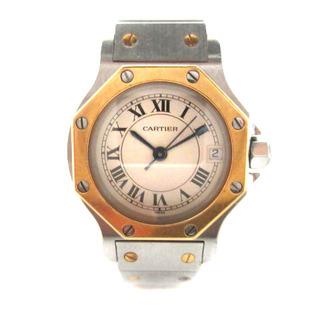 Cartier - カルティエ サントス オクタゴン SM 腕時計 K18 ジャンク ☆AA★
