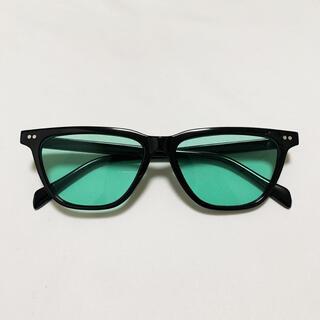 カラーレンズ サングラス 緑 カラーサングラス