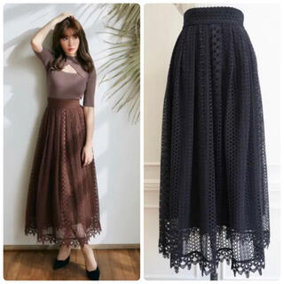 her lip to Now and Forever Long Skirt
