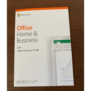 マイクロソフト(Microsoft)のマイクロソフトオフィス2019(PC周辺機器)