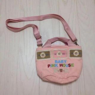 ピンクハウス(PINK HOUSE)の花 BABY PINK HOUSE ミニショルダーバッグバッグ ピンクハウス(ポシェット)