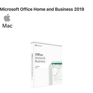 マイクロソフト(Microsoft)のOffice 2019 Home & Business for Mac 1PC(PC周辺機器)