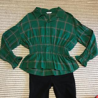 SLY - スライム ウエスト絞り 長袖シャツ