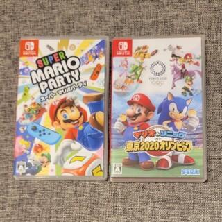 Nintendo Switch - マリオ&ソニック AT 東京2020オリンピック と スーパー マリオパーティ