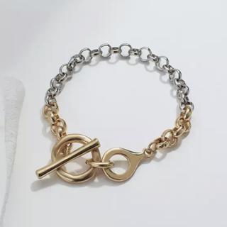 Ameri VINTAGE - Contrast chain bracelet No.718