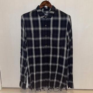 Saint Laurent - Mサイズ AMIRI shotgun shirt flannel