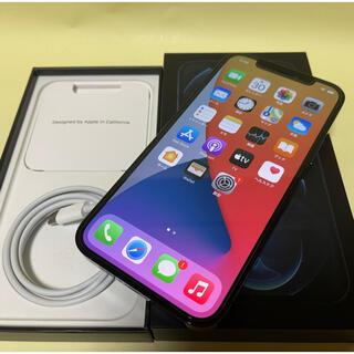 iPhone - 美品 国内版SIMフリー iPhone12 pro 128GB アップルケア+付